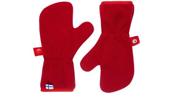 Finkid Nupukka Gloves Kids pepper/red